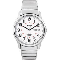 Timex T2N0919J Men's Easy Reader Stainless Steel Expansion Band Watch|https://ak1.ostkcdn.com/images/products/5142908/Timex-Mens-T2N091-Easy-Reader-Stainless-Steel-Expansion-Band-Watch-P12987487.jpg?impolicy=medium