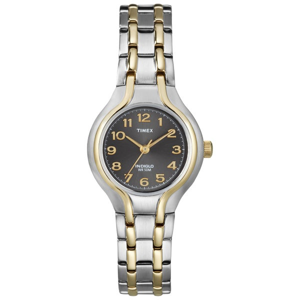 Timex T2K9519J Women's Elevated Classics Two-tone Sport Chic Watch