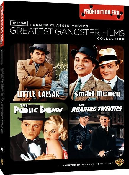 TCM Greatest Classic Films: Gangsters Prohibition Era (DVD)