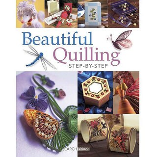 Search Press Books 'Beautiful Quilling Step-By-Step' Instructional Book