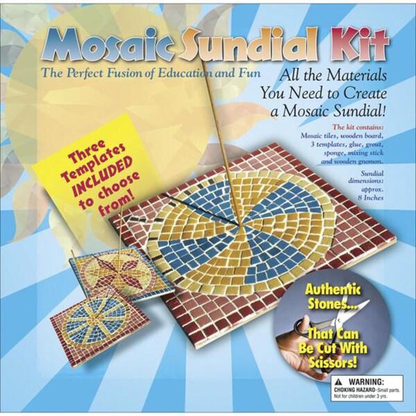 Mosaic 8x8-inch Sundial Kit