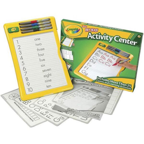 Crayola Dry-erase Activity Center