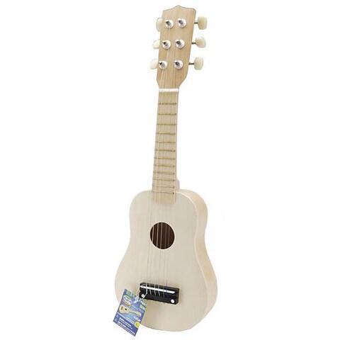 Musical Instrument 20-inch Unpainted Guitar