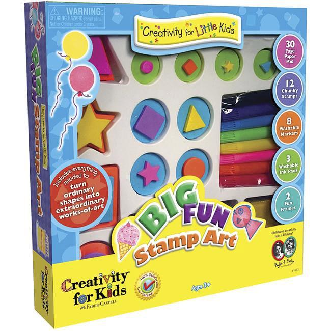 Big Fun Stamp Art Kit
