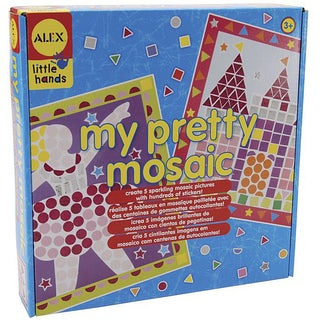 Alex Toys 'my pretty mosaic' Paper/Cardboard Kit with Stickers