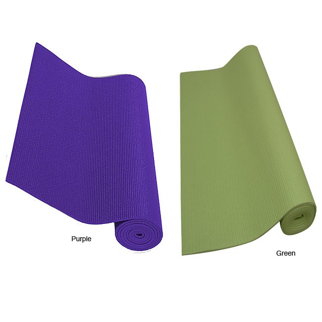 Yoga and Pilates 24 x 68-inch Mat - Thumbnail 0