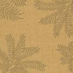 Safavieh Courtyard Ferns Natural/ Gold Indoor/ Outdoor Rug (4' x 5'7) - Thumbnail 2