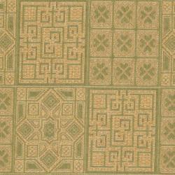 Safavieh Indoor/ Outdoor Green/ Natural Rug (9' x 12') - Thumbnail 2