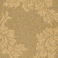 Safavieh Durable Indoor/Outdoor Gold/Natural Rug (8' x 11') - Thumbnail 2