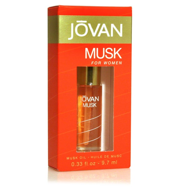 Jovan Musk Women's .33-ounce Perfume Oil
