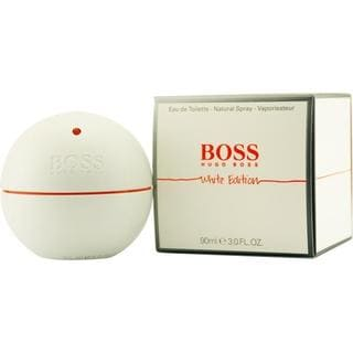Hugo Boss In Motion White Men's 3-ounce Eau de Toilette Spray