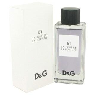 Dolce & Gabbana 10 La Roue de La Fortune Women's 3.3-ounce Eau de Toilette Spray