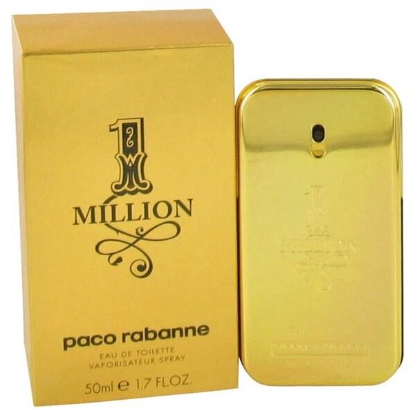 Paco Rabanne 1 Million Men's 1.7-ounce Eau de Toilette Spray