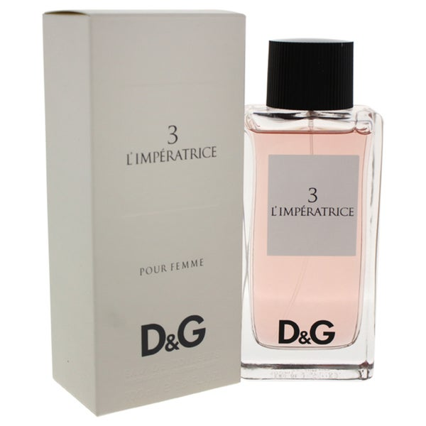 58caaa83a6516 Shop Dolce   Gabbana 3 Limperatrice Women s 3.3-ounce Eau de Toilette Spray  - Free Shipping Today - Overstock - 5145294
