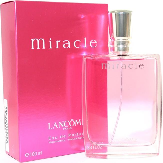 Lancome Miracle Women's 3.4-ounce Eau de Parfum Spray (3....
