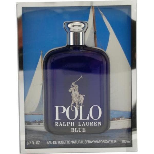 ac06e95dc898 Shop Ralph Lauren Polo Blue Men s 6.7-ounce Eau de Toilette Spray - Free  Shipping Today - Overstock - 5145341