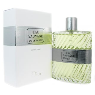 Christian Dior Eau Sauvage Men's 6.7-ounce Eau de Toilette Spray