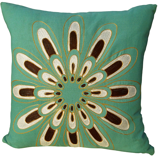 Jovi Home Blue Decorative Pillow