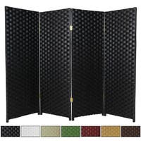 Shop Hardwood Privacy Screen Free Shipping On Orders