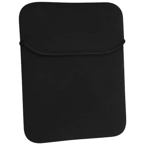 INSTEN Black Neoprene Notebook Padded Protective Sleeve for Apple iPad