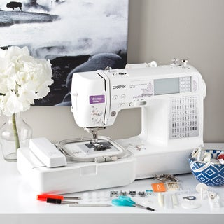 Brother SE400 Computerized Sewing and Embroidery Machine Factory Refurbished