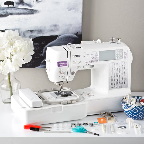 Shop Brother Se400 Computerized Sewing And Embroidery Machine
