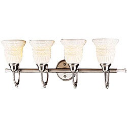 4-light Antique Pewter Vanity Light - Thumbnail 0
