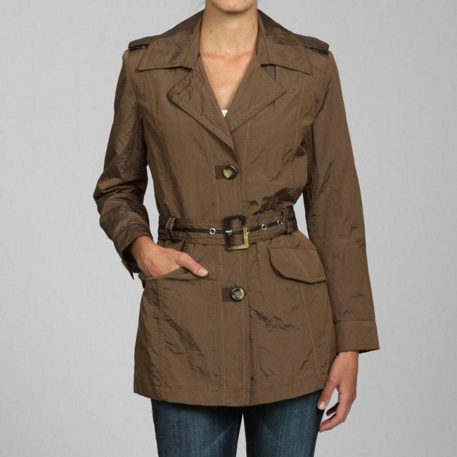 Nuage Women's Walnut Belted Jacket
