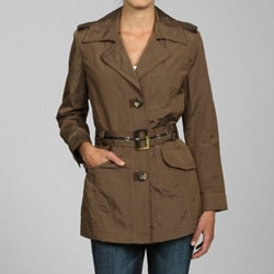 Nuage Women's Walnut Belted Jacket
