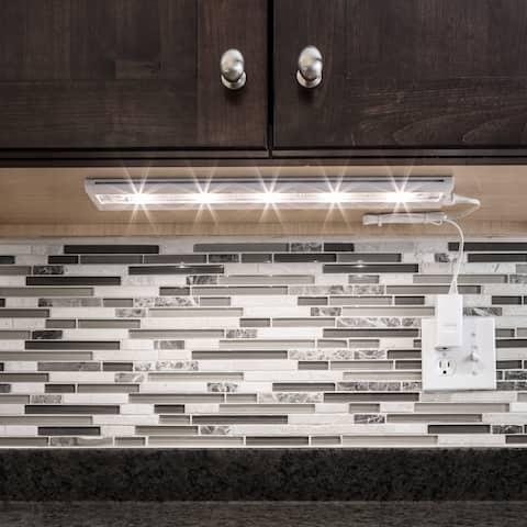White LED 18-inch Under-Cabinet Light