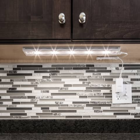 White LED 18-inch Under-Cabinet Light