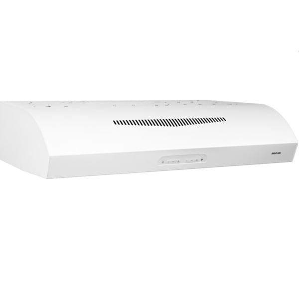 Broan Evolution 2 Series 30-inch White Under-cabinet Range Hood