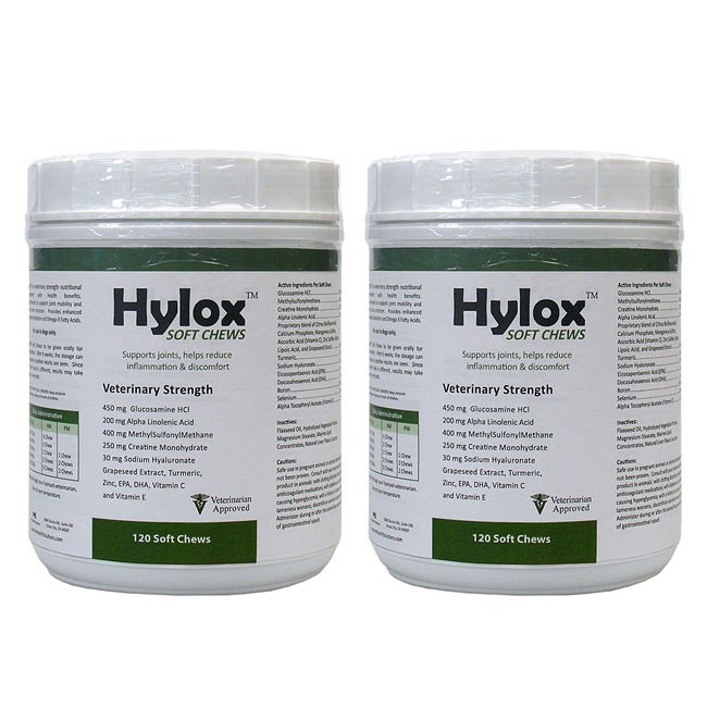 Hylox Soft 120-ct Chews (Pack of 2)