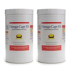 Omega Caps ES Large Dog 250-count Capsules (Pack of 2)