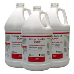 Omega-Caps 1-gallon ES Liquid for Dogs (Pack of 3)