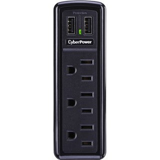 CyberPower TRVL918 3-Outlets Surge Suppressors