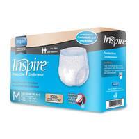 Inspire Extra Absorbency Small/ Medium Protective Underwear (Case of 80)