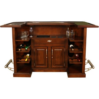 Arlington Suede Home Bar