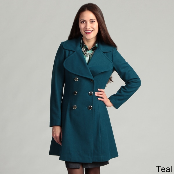 Jessica Simpson Women S Double Breasted Coat Free