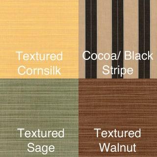 UV-Resistant Armchair Cushion Set made with Sunbrella Fabric