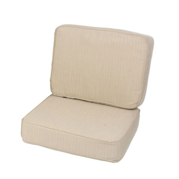 UV Resistant Armchair Cushion Set Made With Sunbrella Fabric