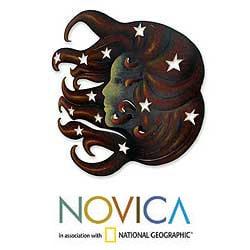 Steel 'Nocturnal Sonata' Wall Art (Mexico) - Thumbnail 1