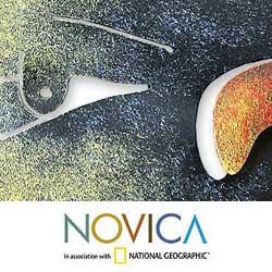 Steel 'Nocturnal Sonata' Wall Art (Mexico) - Thumbnail 2