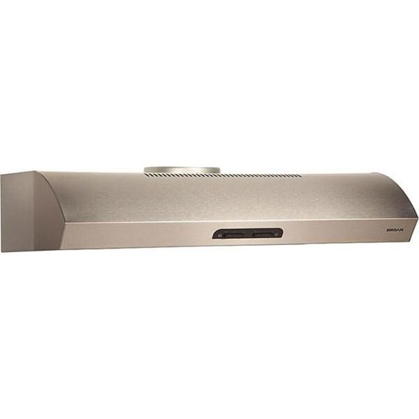 Broan Evolution 1 Series 36-inch Stainless Steel Under-cabinet Range Hood