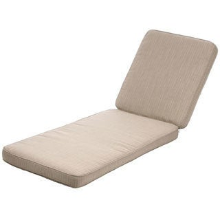 "Indoor/ Outdoor 25"" Wide Chaise Lounge Cushion with ..."