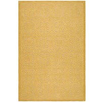 Safavieh Handmade Moroccan Cambridge Gold Wool Rug - 8' x 10'