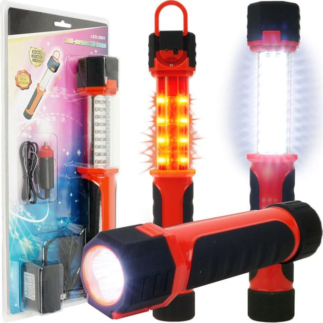 Multipurpose Super-bright Rechargeable LED Light