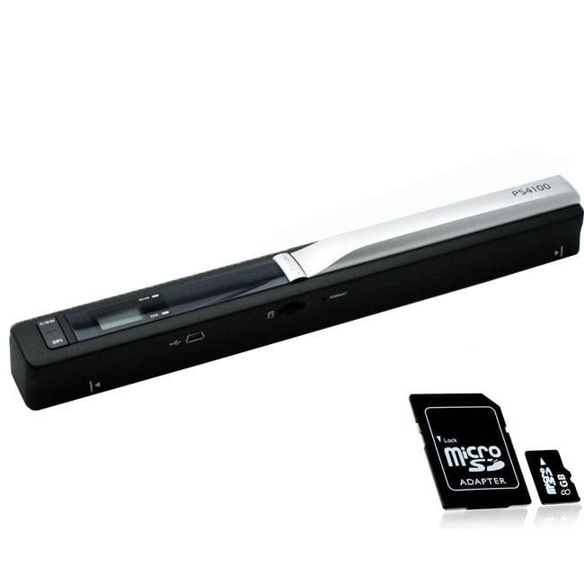 Vividscann PS410 Handyscan Portable Scanner with 8GB Memory Card