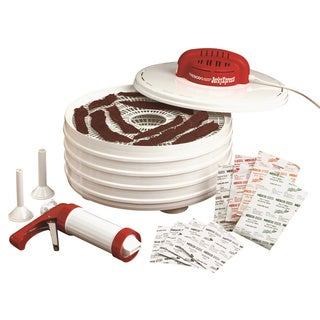 Nesco FD-28JX American Harvest Jerky Xpress Dehydrator Kit and Jerky Gun