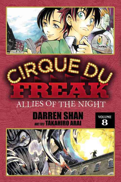 Cirque Du Freak 8: Allies of the Night (Paperback)